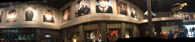 The Harry Potter Studios Entrance