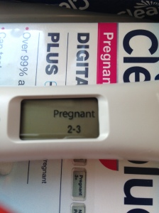 My Positive Pregnancy Test
