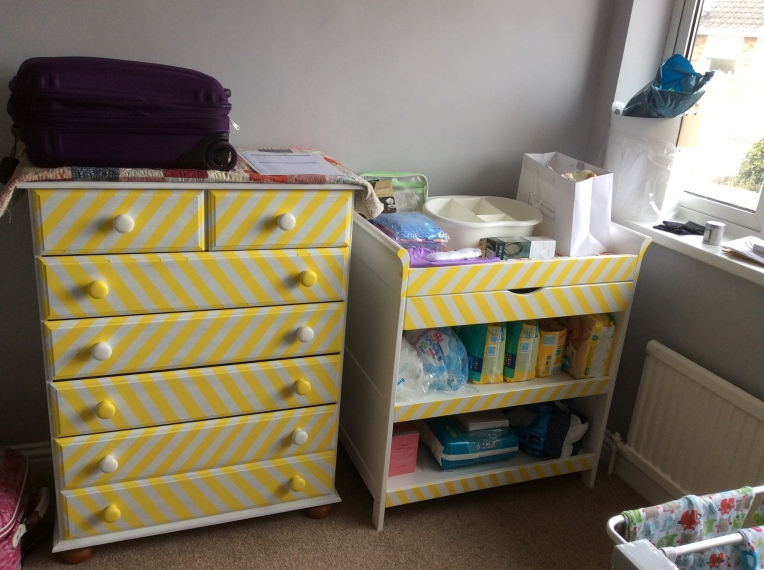 The finished furniture pre-room tidy!