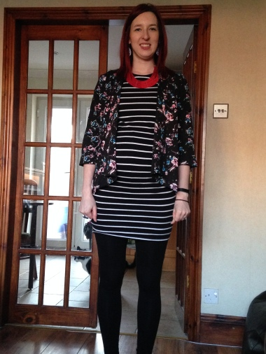 37 weeks + 5 days bump dressed for James Martin